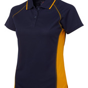 Podium Ladies Cover Polo Navy/Gold 8