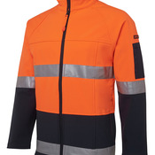 JB's Hi Vis 4602.1 (D+N) Layer Jacket Lime/Navy XS