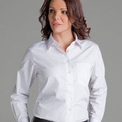 JB's Ladies S/S Poplin Shirt Black 8