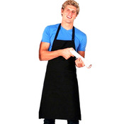 Full-bib Apron Cotton